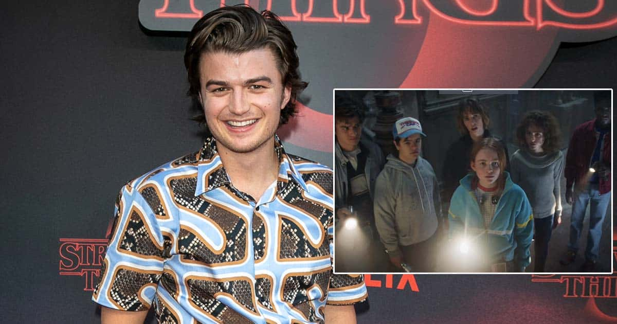 Joe Kerry Is Revealing Deets About Stranger Things 4 To His Friends