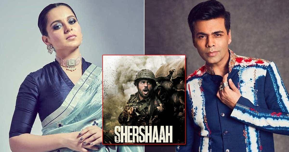 Kangana Ranaut Overlooks Karan Johar Link As She Praises Patriotic 'Shershaah'