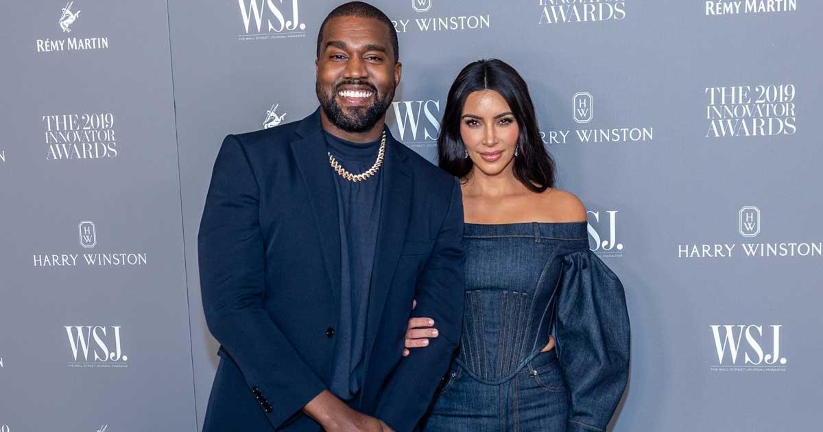 Kim Kardashian Rocked An All-Black Balenciaga At Ex Kanye West's Donda Event