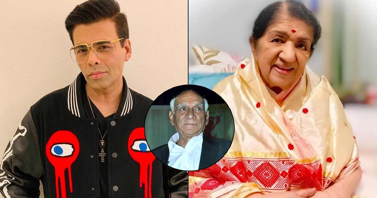 KJo remembers recording song with Lata Mangeshkar