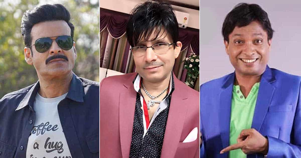 KRK Targets Manoj Bajpayee Over Not Taking Action Against Sunil Pal!