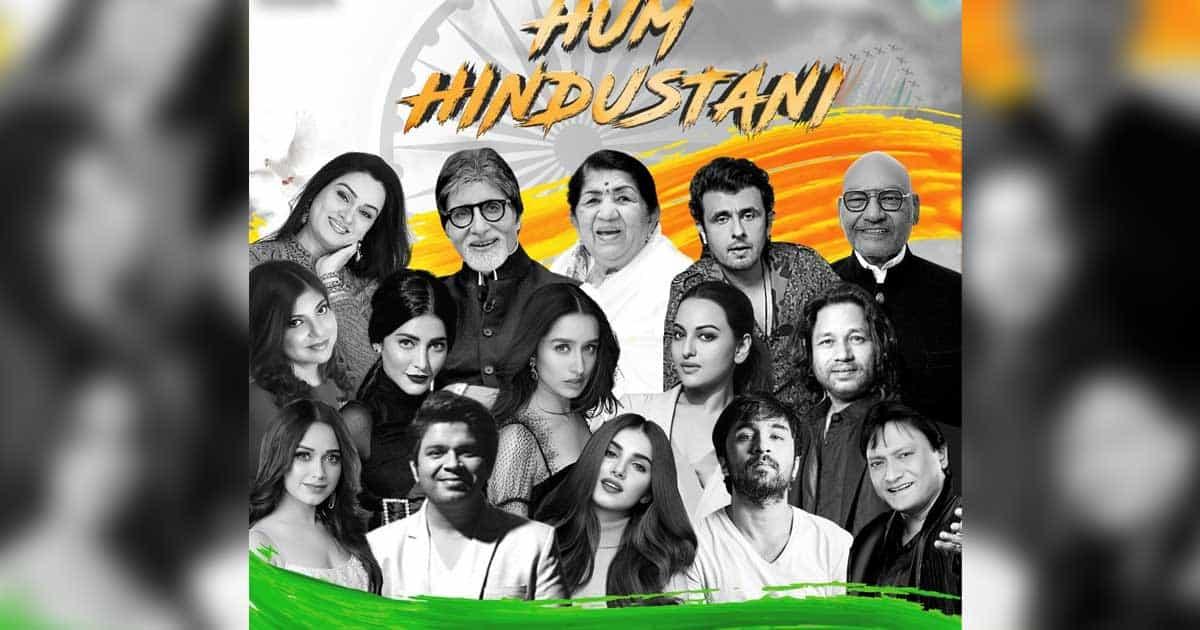 Lata Mangeshkar, Amitabh Bachchan, Sonu Nigam sing together for 'Hum Hindustani'