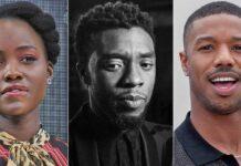 Lupita Nyongo, Michael B. Jordan pay tribute to Chadwick Boseman