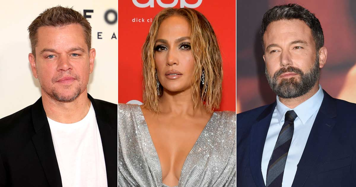 Matt Damon joins Ben Affleck and Jennifer Lopez on a beach stroll. He is 'happy' and supportive of his best friend's rekindled relationship.