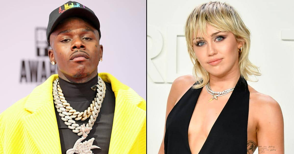 Miley Cyrus Slides Into DaBaby's DMs, Urges People To Not 'Cancel' The Rapper Over His Homophobic Rant
