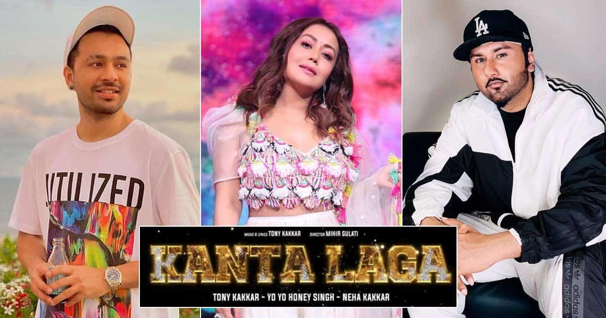 Neha Kakkar, Tony, Yo Yo Honey Singh team up for party number 'Kanta Laga'