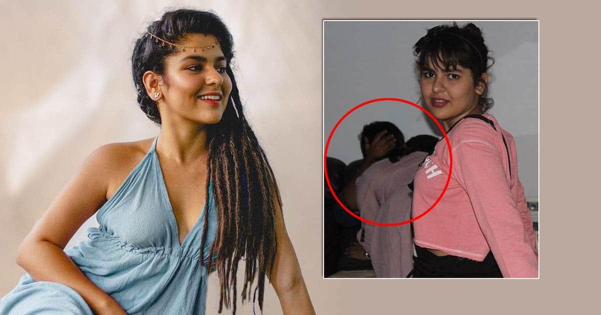 Netizens Spot 2 People Kissing Behind Viral Picture Ft. Taarak Mehta Fame Nidhi Bhanushali