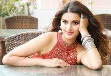 No break from shooting for Nidhhi Agerwal on her b'day