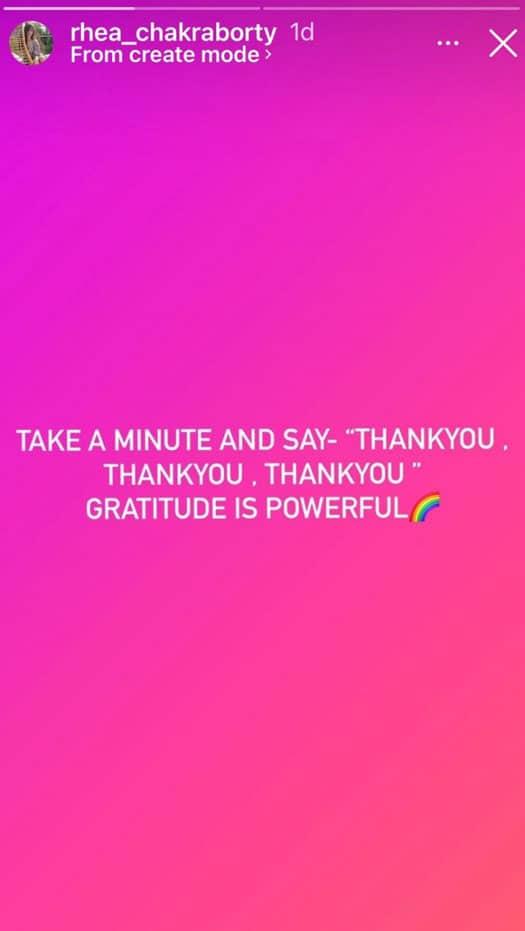 On 'Chehre' release eve, Rhea Chakraborty says gratitude is powerful