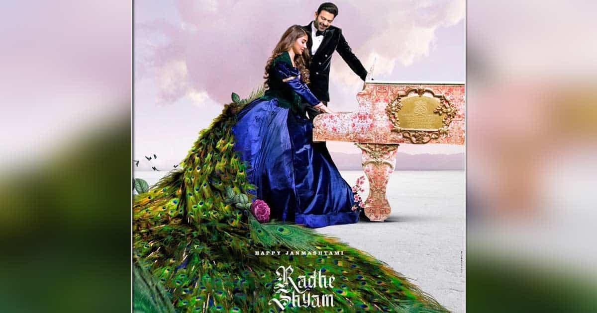 Pan-India Magnum Opus Radhe Shyam unveils the latest poster on the occasion of Janamashtami