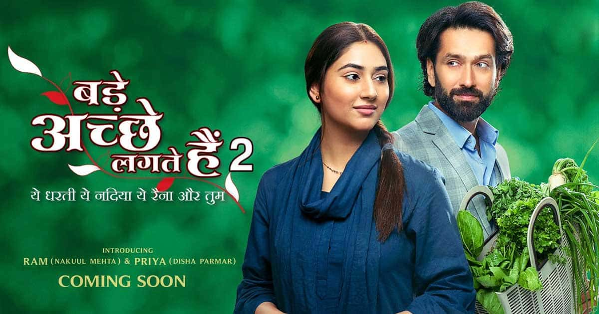 Poster out for 'Bade Acche Lagte Hain 2' starring Disha, Nakuul