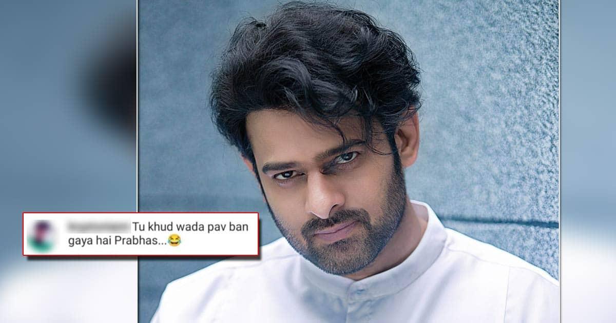 Prabhas Gets Fat-Shamed Online Post His Recent Pictures Go Viral; Netizen Calls Him
