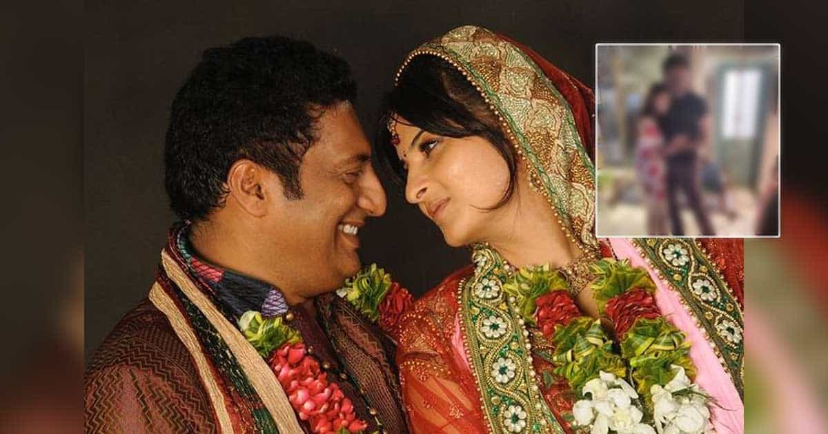 """Prakash Raj Gets Married To Wife Pony Verma Again & Writes, """"Because Our Son Vedhant Wanted To Witness It"""" - Check Out"""