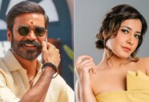 Raashii Khanna to feature with Dhanush in her next