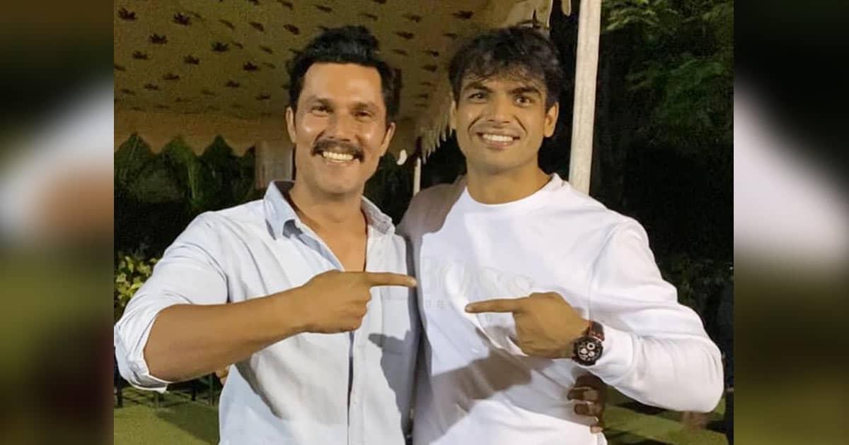 Randeep Hooda meets Olympic hero Neeraj Chopra