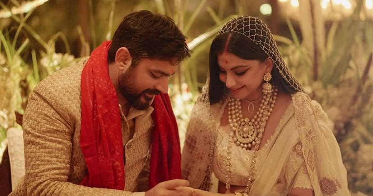 Rhea Kapoor Shares Her Wedding Day Pic With Karan Boolani & Writes,