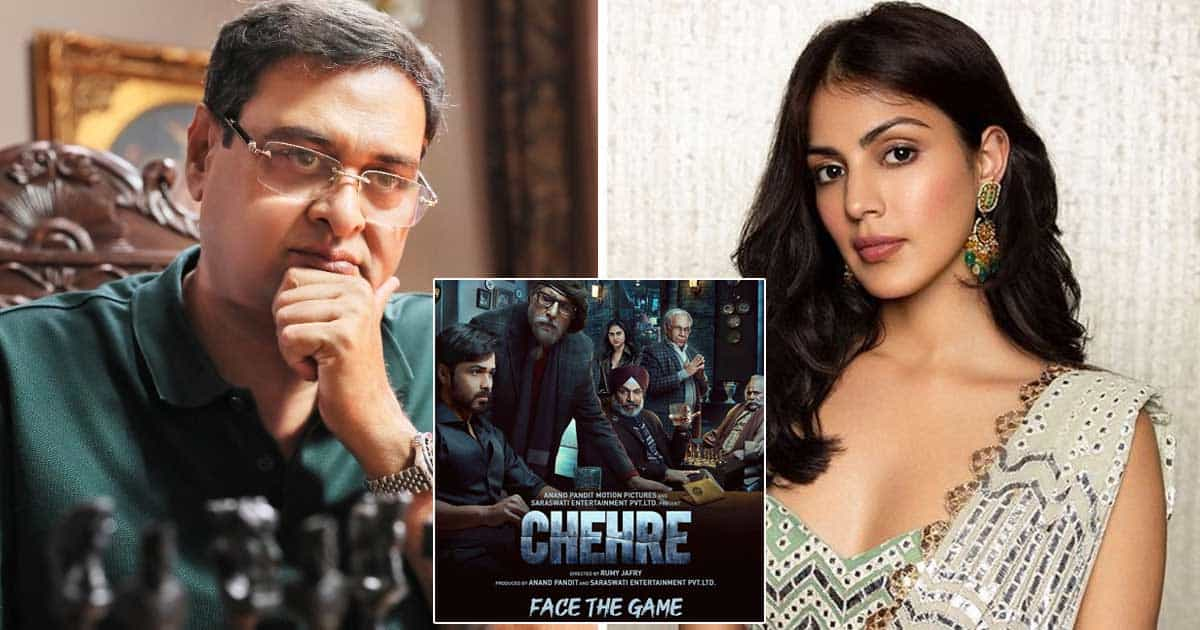 Rumy Jafry: Don't think 'Chehre' will benefit or suffer due to Rhea