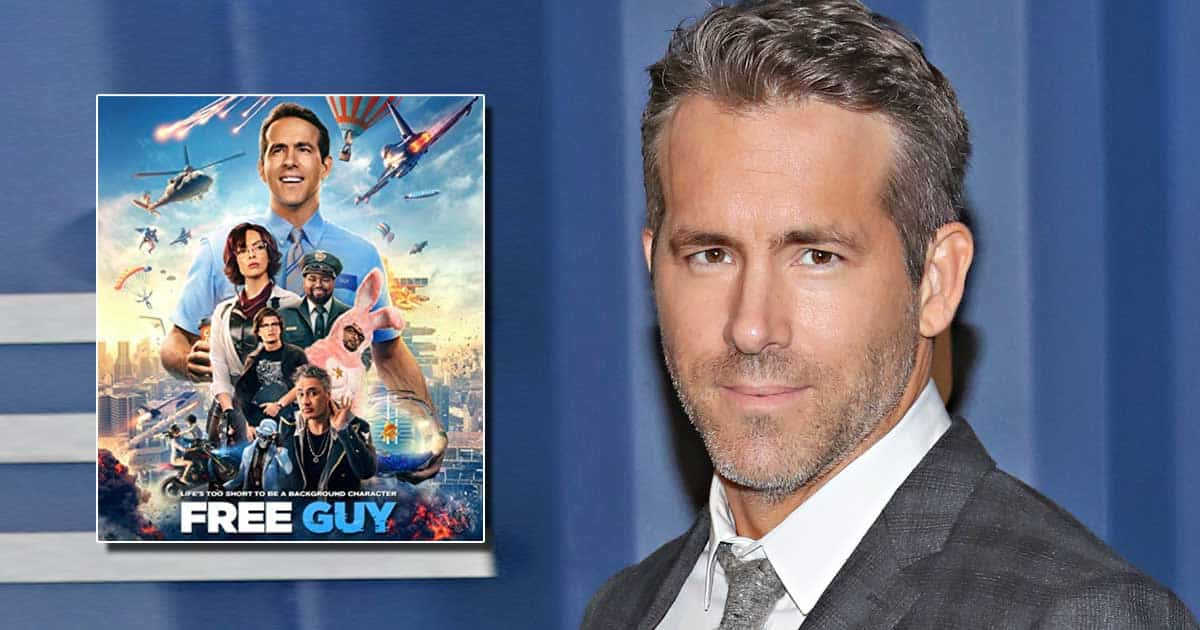 Ryan Reynolds Is Super Buffed In A New Clip Of The Upcoming Movie Free Guy