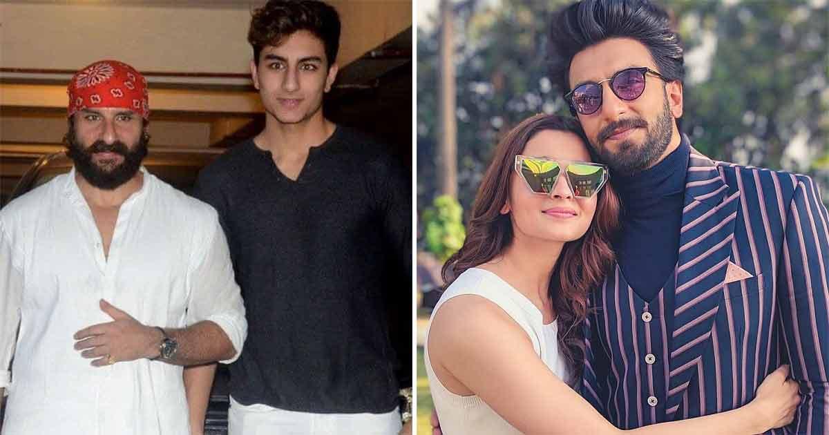 Saif Ali Khan's Son Ibrahim Ali Khan To Be A Part Of Ranveer Singh, Alia Bhatt's 'Rocky Aur Rani Ki Prem Kahani'?