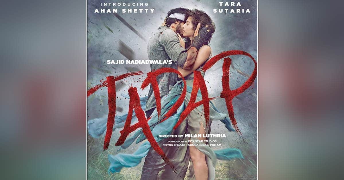 Sajid Nadiadwala's 'Tadap - An Incredible Love Story' in cinemas on 3rd December, 2021!