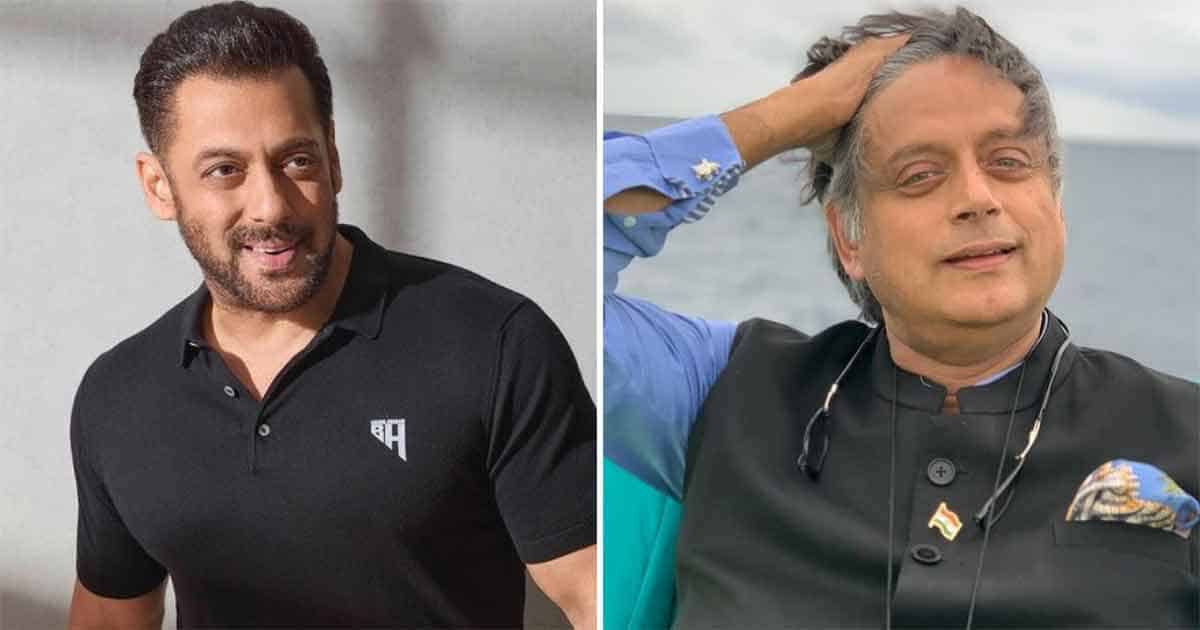 Did You Know? Salman Khan & Shashi Tharoor Were Close To Work On A Film?