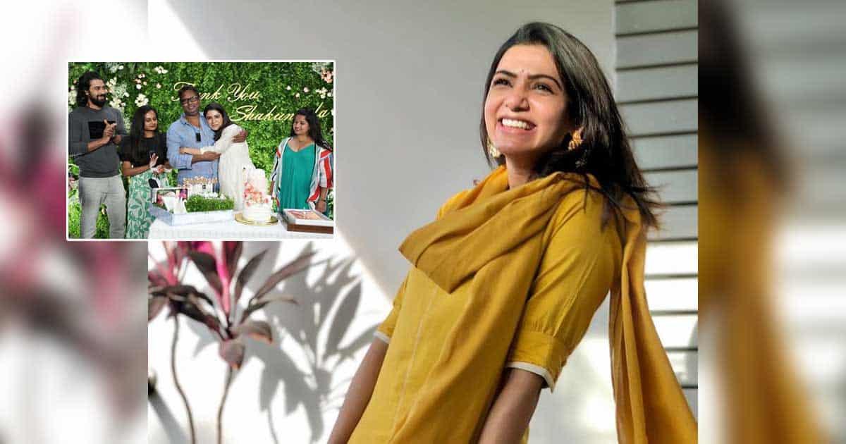 Samantha Akkineni wraps up 'Shaakuntalam' shoot on emotional note