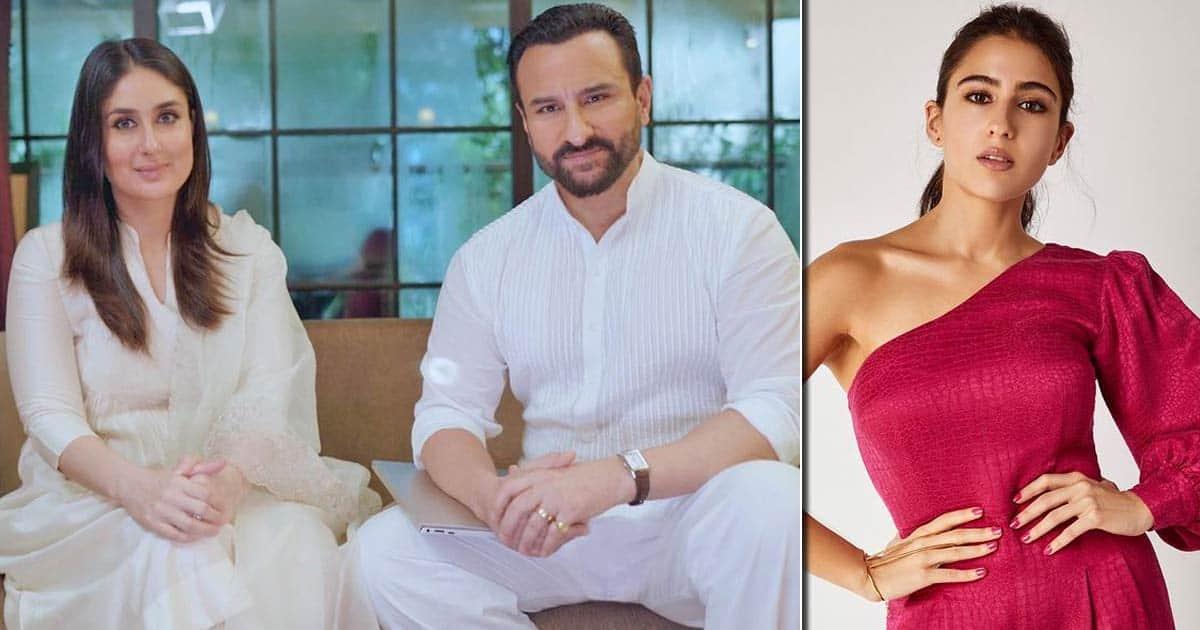 Sara Ali Khan Talked Saif Ali Khan & Kareena Kapoor Out Of Their No-Kissing Policy