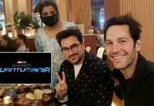 Schitt's Creek's Dan Levy & Paul Rudd Dine On Indian Food While Sparking Speculations Of Sitcom Actor Joining Ant-Man 3(Image Credit: Twitter/Asma Khan)