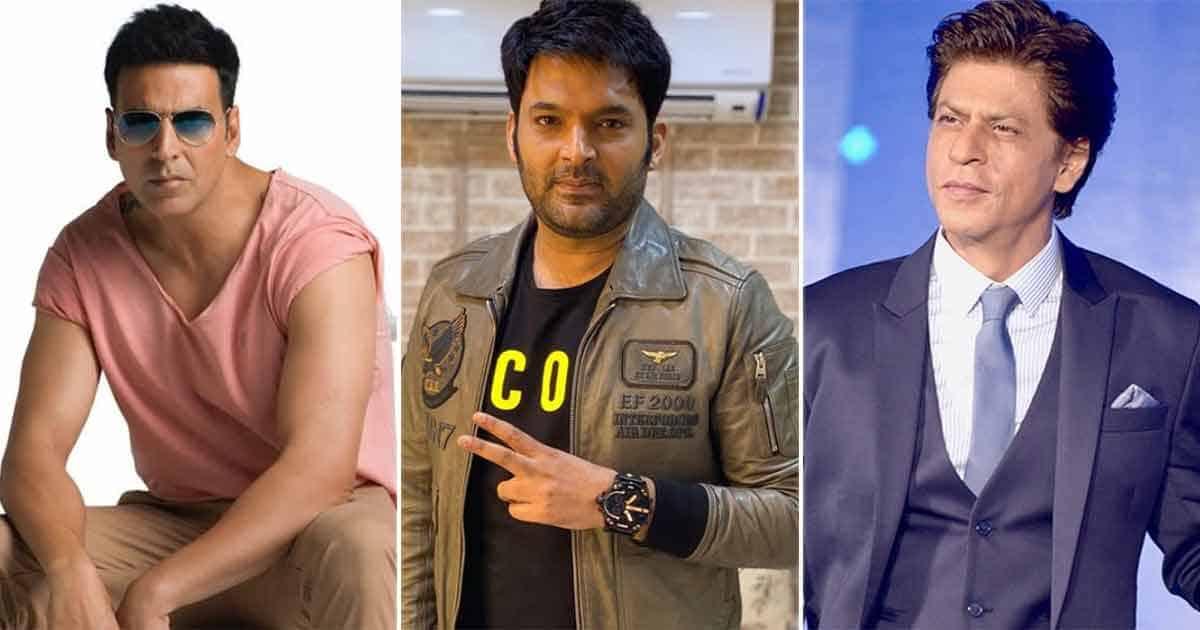 """Shah Rukh Khan PCO Pe Kaam Karte Hai?"" Jokes Kapil Sharma To A Fan Requesting Akshay Kumar To Call King Khan's Alternate Number"