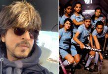 Shah Rukh Khan thanks 'Chak De India' girls for making him the 'gunda'