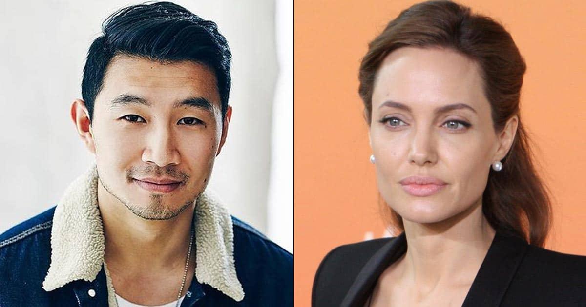 'Shang-Chi' star Simu Liu recalls making Angelina laugh at Comic Con