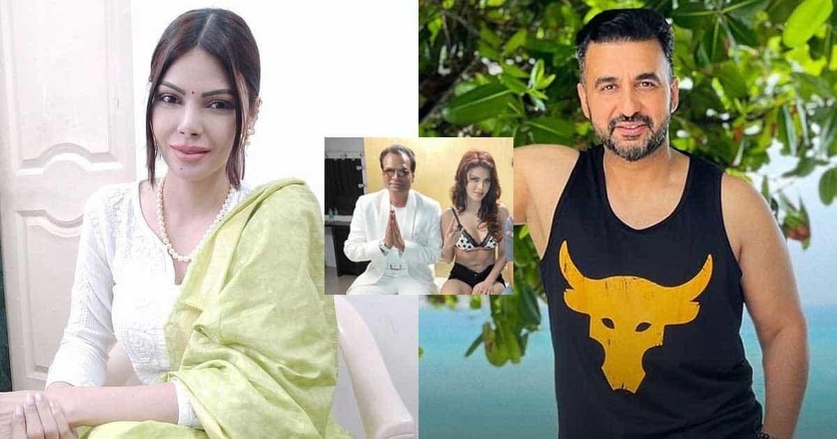 Raj Kundra P*rn Scandal: Sherlyn Chopra Shares A Throwback Pic With Shilpa Shetty's Husband, Netizens Call It 'Photoshopped'(Pic Credit: Instagram/rajkundra9, sherlynchopraofficial)