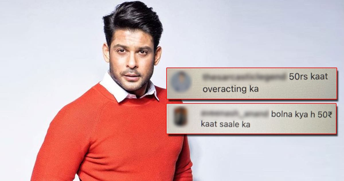 Sidharth Shukla Trolled For His Sorry Post On Afghanistan, Netizen Says
