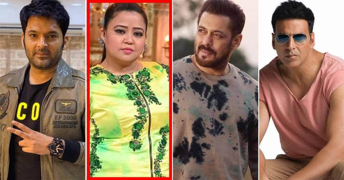 The Kapil Sharma Show Is Produced By Salman Khan Or Akshay Kumar? Asks Bharti Singh On Khiladi Owning The Show