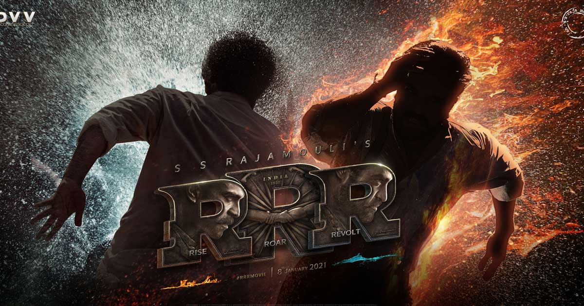 Update on RRR: Shoot wrapped up, post production work happening at a brisk space