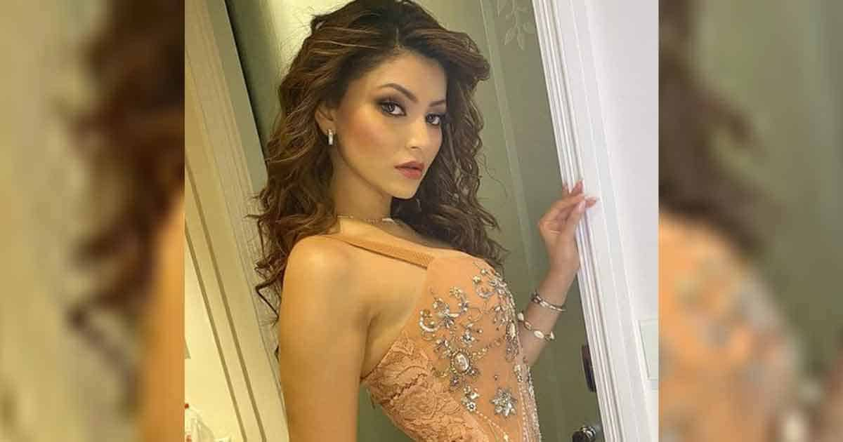 Urvashi Rautela stunts her fans with a sexy beige Body con dress, Check it out