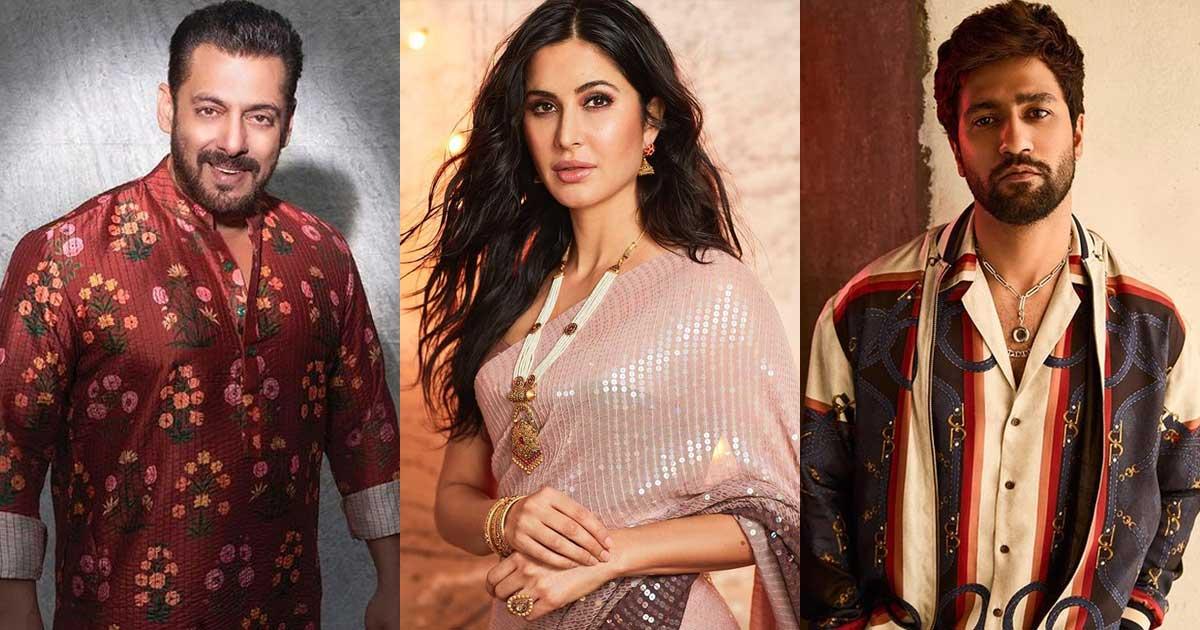 Vicky Kaushal & Katrina Kaif Got Secretly Engaged? Netizens Drag Salman Khan In Meme Fest
