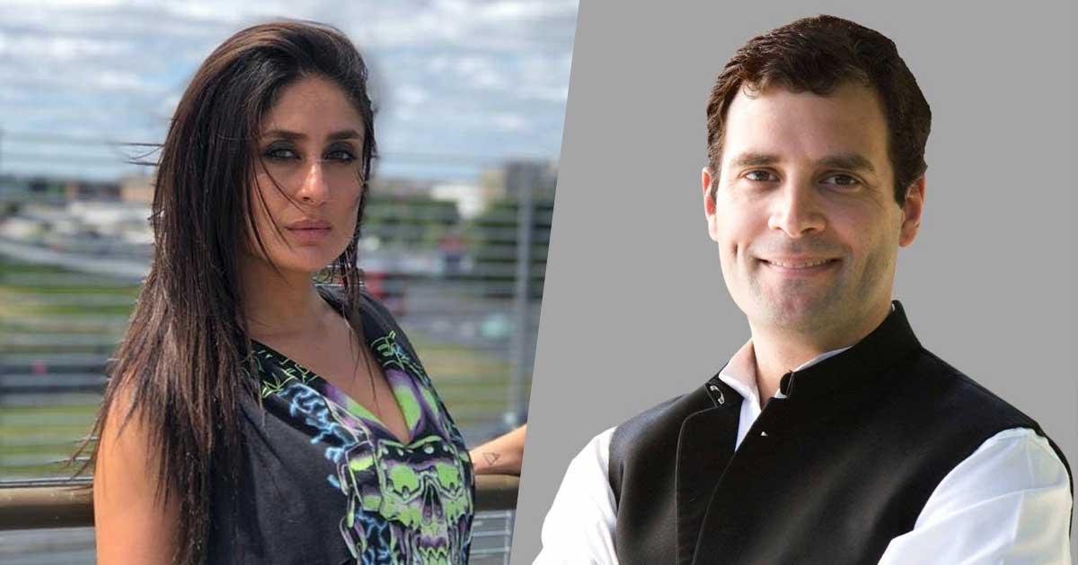 When Kareena Kapoor Was Ready To Date Rahul Gandhi