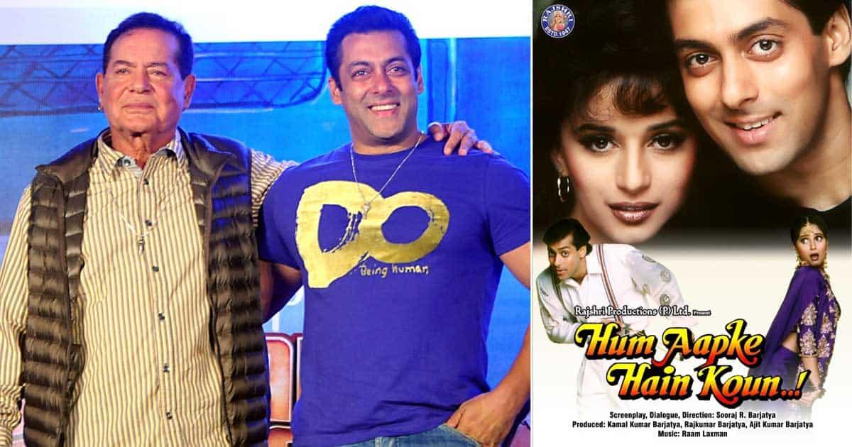 When Salman Khan's Father Salim Khan's Advice Helped Hum Aapke Hain Koun Become Blockbuster