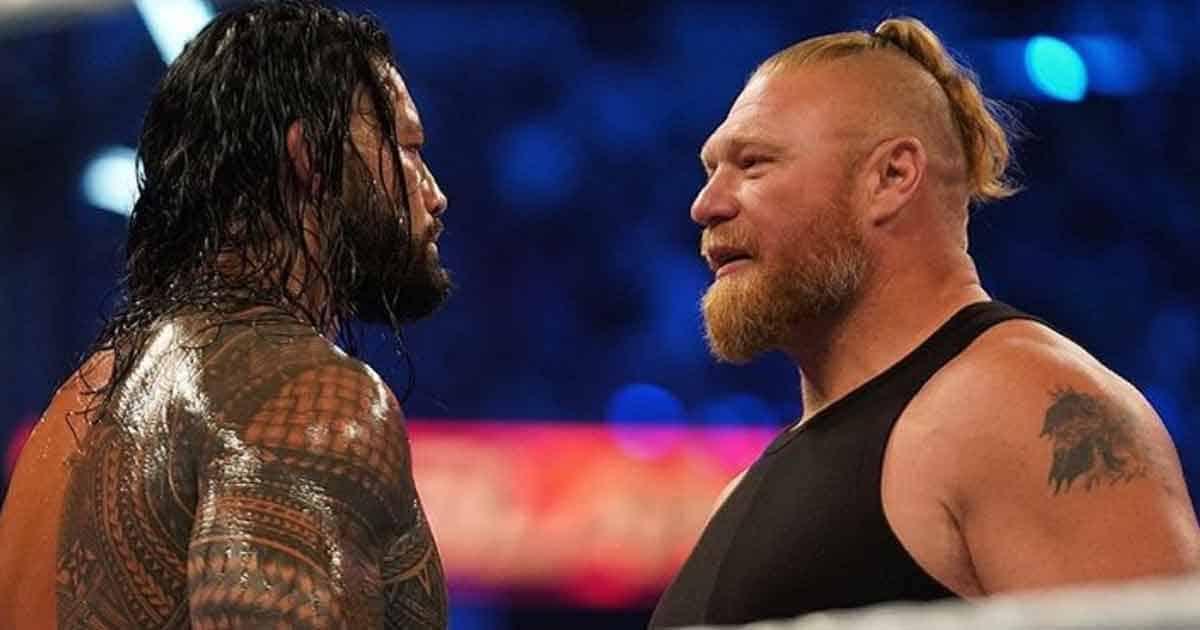 WWE: Fans Are Loving Brock Lesnar vs Roman Reigns