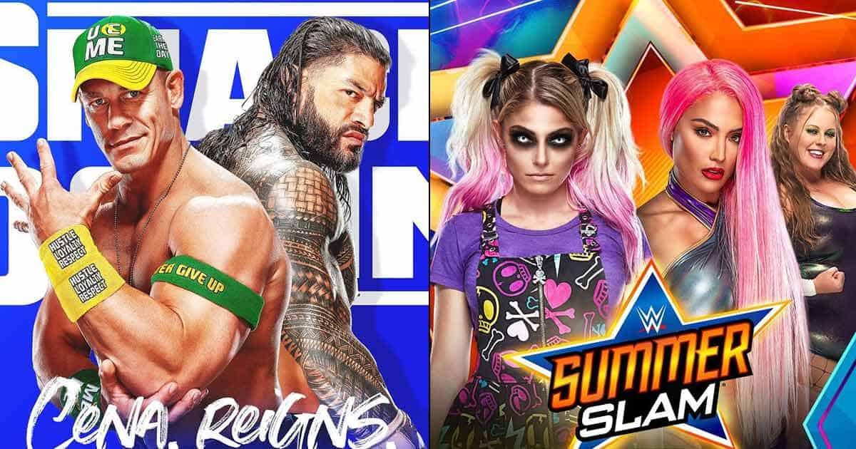 WWE Summerslam 2021 Full Match Card