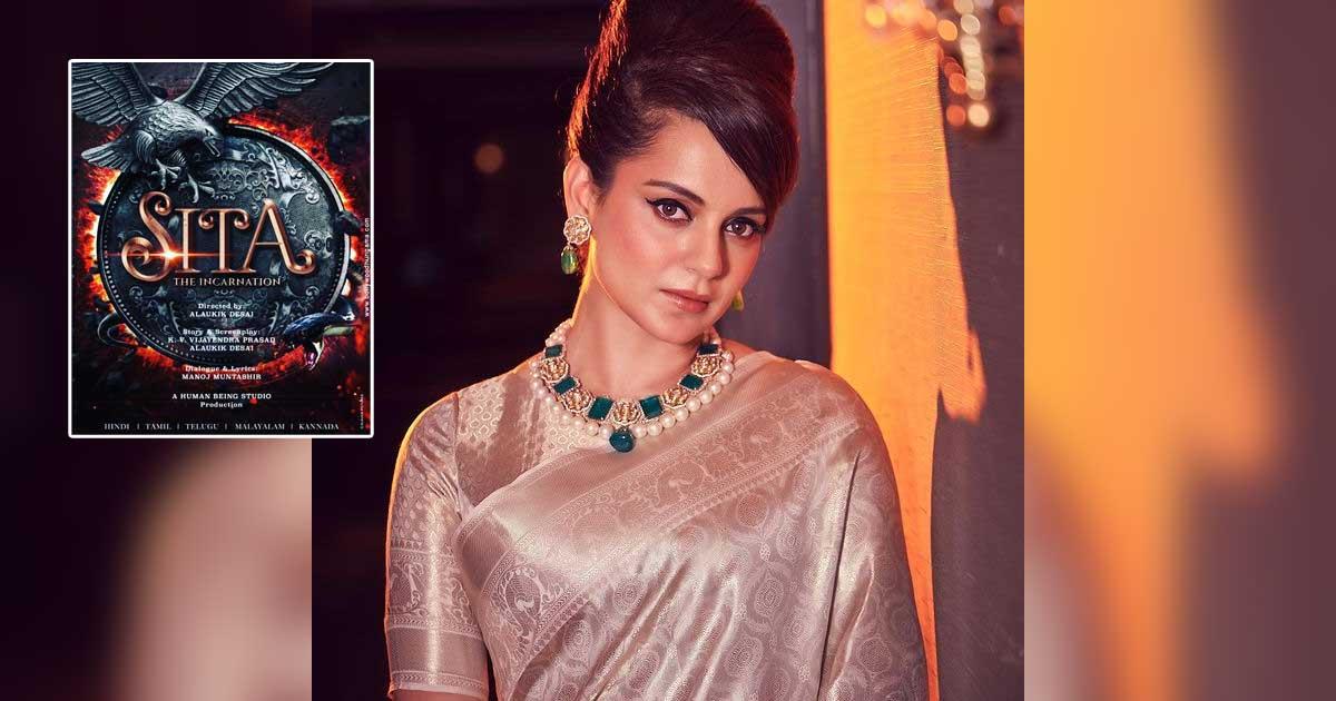 After J Jayalalithaa, Kangana Ranaut To Now Play Goddess Sita In An Epic Period Drama - The Incarnation- Sita