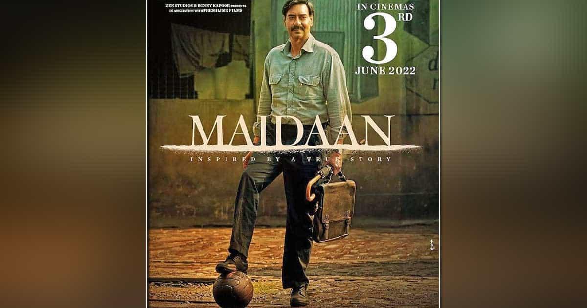 Ajay Devgn's football flick 'Maidaan' to release on June 3, 2022
