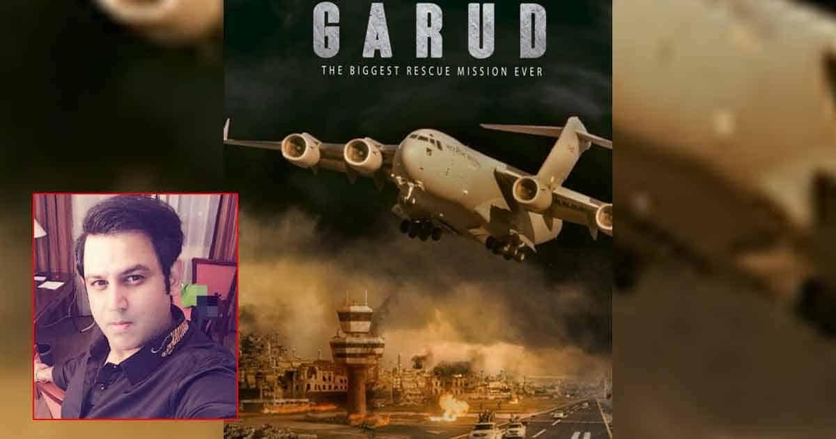 Ajay Kapoor Opens Up On His Film On Afghan Rescue Crisis 'Garud'