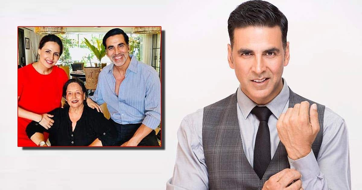 Akshay Kumar's Mother Admitted To ICU Critical Condition, Actor Returns From UK But Makes Sure Cinderella's Shoot Doesn't Stop - Deets Inside