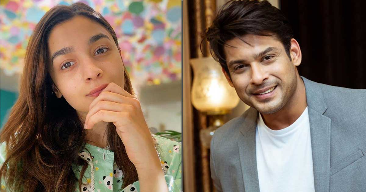 "Sidharth Shukla's 'Humpty Sharma Ki Dulhania' Co-Star Alia Bhatt Says, ""He Was Always Smiling & Positive"""