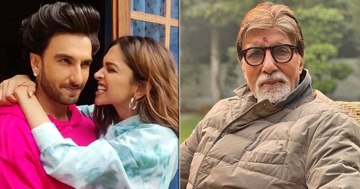 Amitabh Bachchan Opens Up About Being Caught Between Ranveer Singh & Deepika Padukone's PDA – Before They Were Even Married