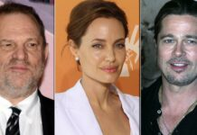 Angelina Jolie Talks About The Time Brad Pitt Worked With Harvey Weinstein