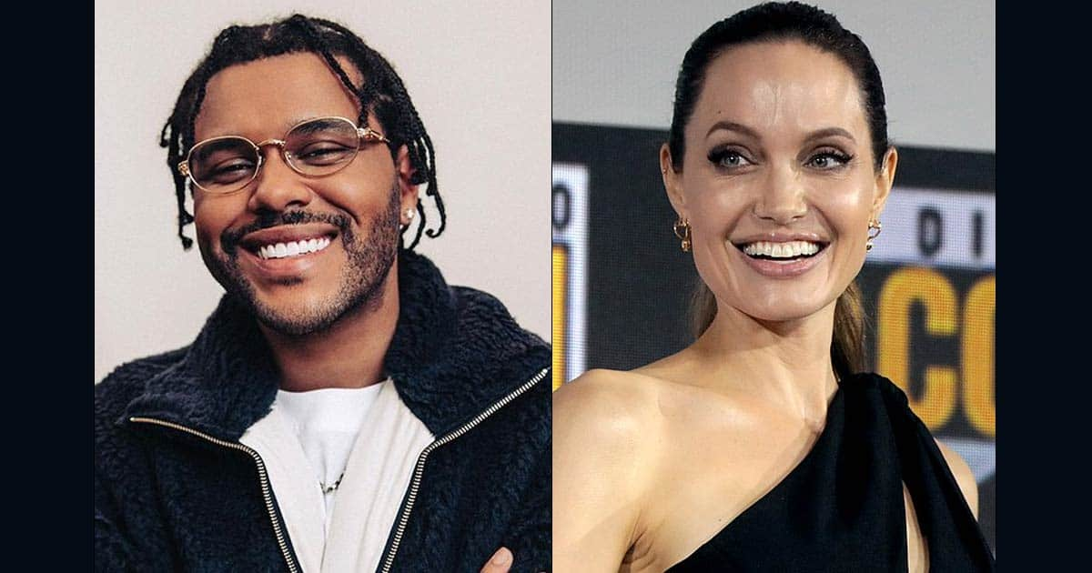 """Angelina Jolie's Friends Believe """"Something Romantic Is Going On"""" With The Weeknd"""