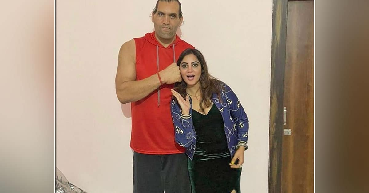 Arshi Khan Feels Blessed To Find A Teacher In The Great Khali